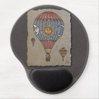 Colorful Hot Air Balloon Gel Mouse Pad