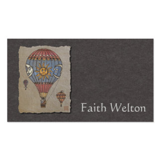 Colorful Hot Air Balloon Pack Of Standard Business Cards