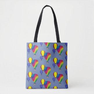 Colorful Hot Air Balloons Tote Bag