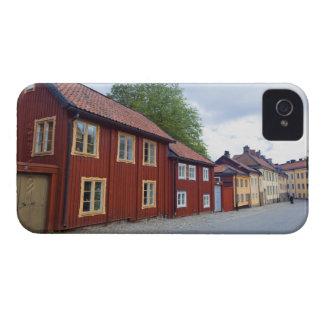 Colorful houses, Lotsgatan, Södermalm, Stockholm iPhone 4 Case
