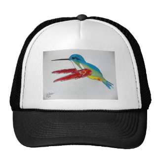 Colorful Hummingbird Trucker Hat