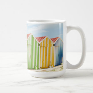 Colorful Huts On Beach Coffee Mug