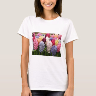 Colorful Hyacinth flowers in bloom 1 T-Shirt