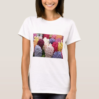 Colorful Hyacinth flowers in bloom 2 T-Shirt