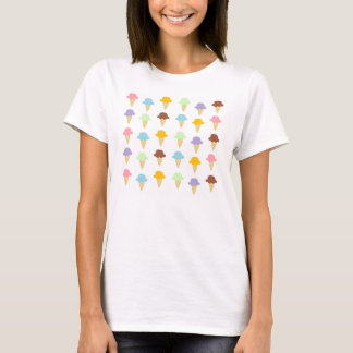 Colorful Ice Cream Cones T-Shirt