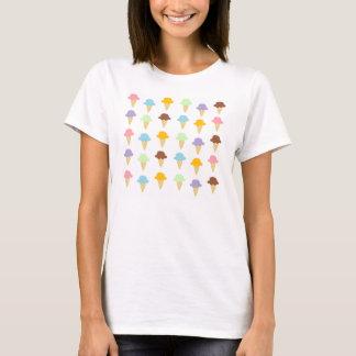 Colorful Ice Cream Cones T-Shirt
