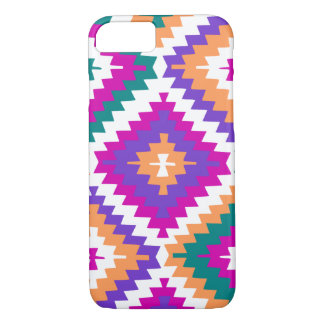 Colorful ikat pattern iPhone 8/7 case