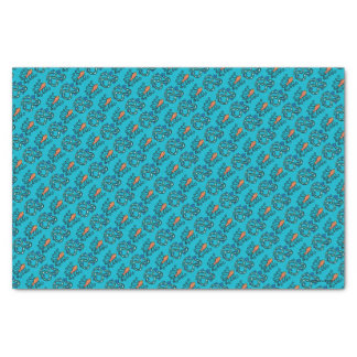 Colorful Illustrated Fish Friends Tissue Paper