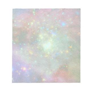 Colorful Impressionist Orion Nebula Notepad