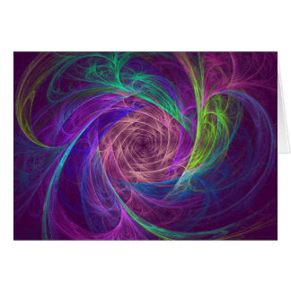 Colorful Infinity With Pink And Purple Cards