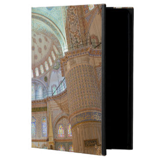 Colorful interior domed ceiling of Blue Mosque Cover For iPad Air