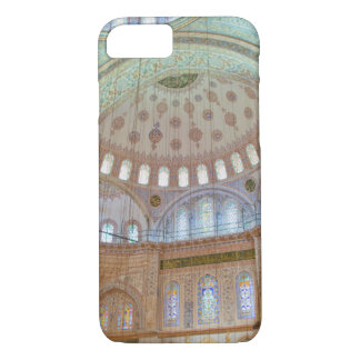Colorful interior domed ceiling of Blue Mosque iPhone 8/7 Case