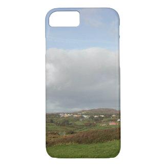 Colorful Irish Village Scene. iPhone 8/7 Case