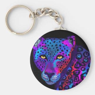 Colorful Jaguar Key Ring