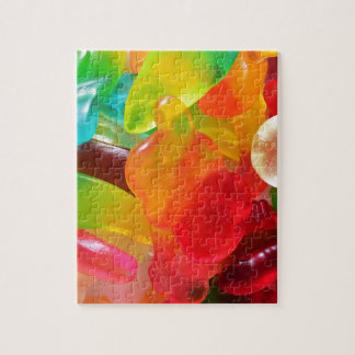 colorful jelly gum texture jigsaw puzzle