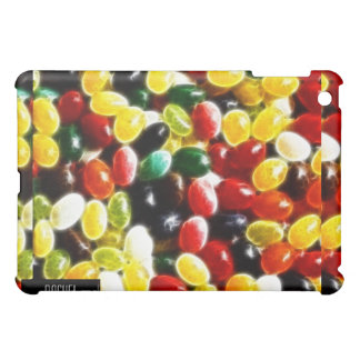 Colorful Jellybean Fractal iPad Cover