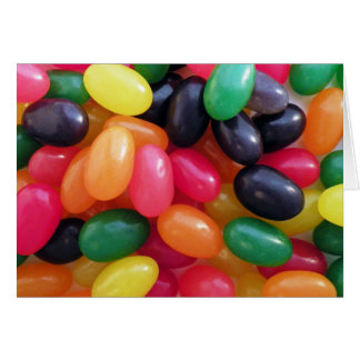 Colorful Jellybeans Card