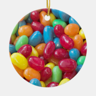 Colorful Jellybeans Christmas Ornament