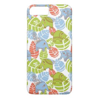 Colorful Jungle Elephants iPhone 8 Plus/7 Plus Case