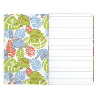 Colorful Jungle Elephants Journal