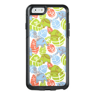 Colorful Jungle Elephants OtterBox iPhone 6/6s Case