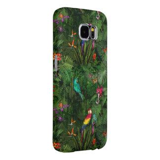 Colorful Jungle Samsung Galaxy S6 Cases