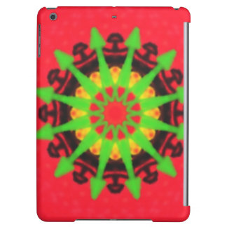 Colorful kaleidoscope cover for iPad air
