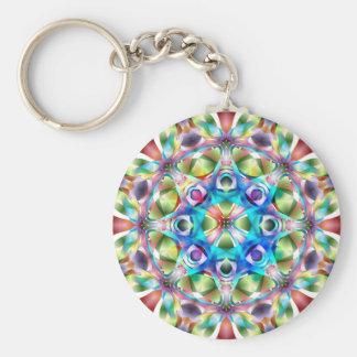 Colorful Kaleidoscope Key Chain
