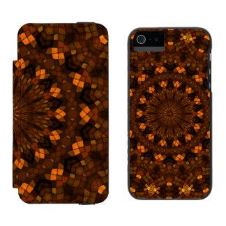 Colorful kaleidoscope mosaic incipio watson™ iPhone 5 wallet case
