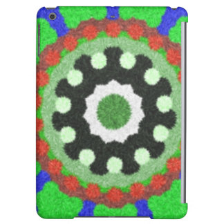 Colorful kaleidoscope pattern cover for iPad air
