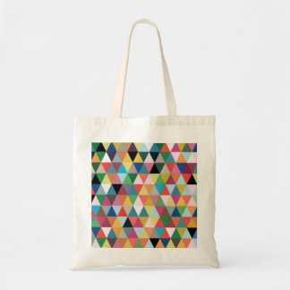 Colorful Kaleidoscope Patterned Tote Bag