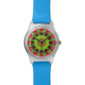 Colorful kaleidoscope watch