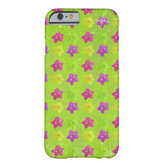 Colorful Kawaii Stars Barely There iPhone 6 Case