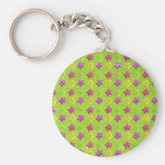 Colorful Kawaii Stars Keychain