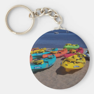 Colorful Kayaks Key Ring