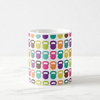 colorful Kettlebells For Basic White Mug