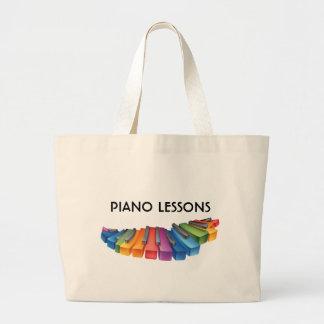 Colorful Keyboard Cool Tote Jumbo Tote Bag