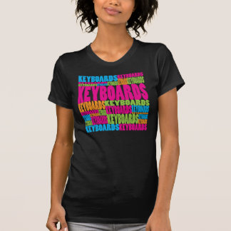 Colorful Keyboards T-Shirt