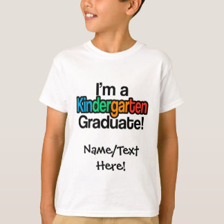 Colorful Kids Graduation Kindergarten Graduate T-Shirt