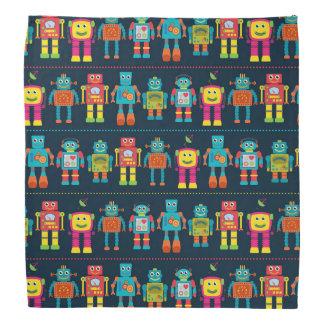 Colorful Kids Robot Head Kerchiefs