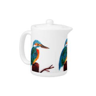 Colorful KIngfisher Bird Art