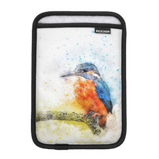 Colorful Kingfisher Bird iPad Mini Sleeve