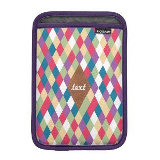 colorful kite pattern iPad mini sleeve