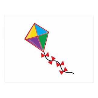 Colorful Kite Postcard