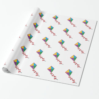 Colorful Kite Wrapping Paper