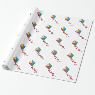 Colorful Kite Gift Wrap
