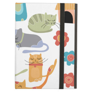 Colorful Kitty Cats Print Gifts for Cat Lovers Cover For iPad Air