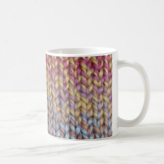 Colorful Knit Coffee Mug