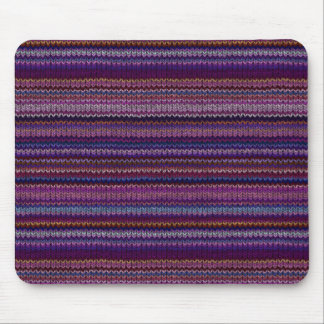 Colorful Knitted Pattern Mouse Mat