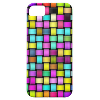 Colorful knitted texture iPhone 5 case